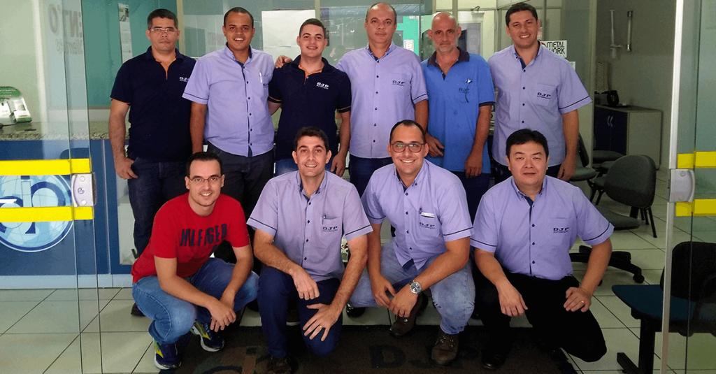 DJP Automação Industrial 20 anos