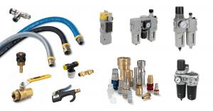Pneumática industrial Parker - FRL global, conexões pneumáticas, mangueiras pneumáticas